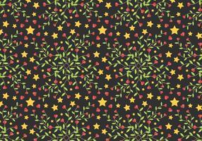 Star Free Vine Background Vector