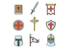Vettore Templar gratis