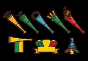 vettore della tromba di vuvuzela