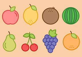 Vettore di frutta gratis