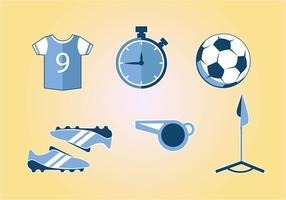 Vettore di Kit Sport Calcio