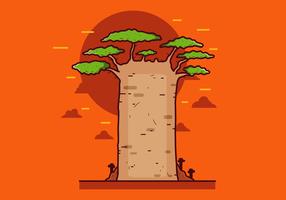 Vettore gratuito di Baobab