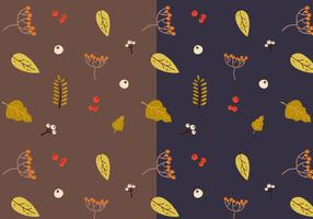 Autumn Pattern Vector gratuito