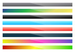 Vettore superiore gradiente lineare di Webkit libero