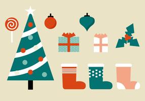 Natale gratis elementi vettoriali