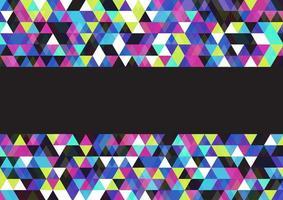 design multicolor basso poli vettore