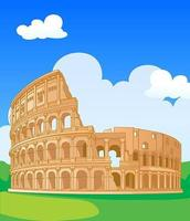 Colosseo nel design di Roma
