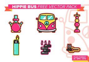 Pacchetto di vettore gratuito Hippie Bus