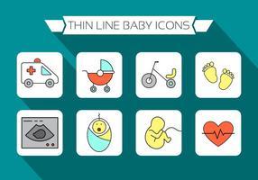 Icone gratis per bambini vettore