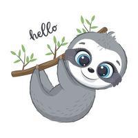 simpatico personaggio bradipo