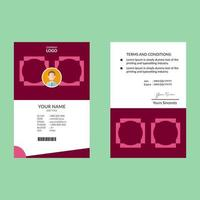 carta d'identità rosa