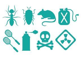 Icone di controllo dei parassiti