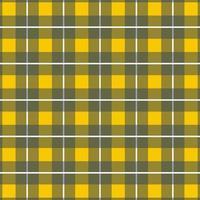 plaid a quadri verticali giallo, grigio senza cuciture