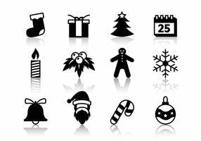 Natale icone vettoriali gratis