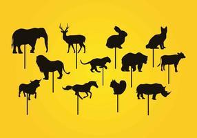 Burattino delle ombre animali