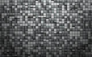 modello quadrato in metallo grigio vettore