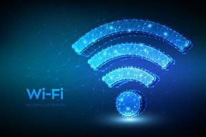 icona della rete Wi-Fi vettore