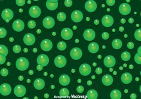 Sfondo di bolle verdi