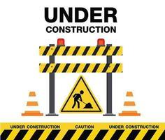 segno ed elementi in costruzione