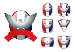 Emblema di Eagle Scout vettore
