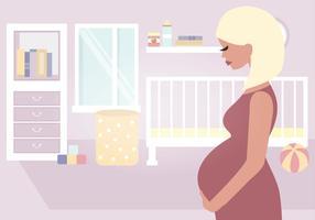 Illustrazione vettoriale di madre