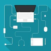 computer portatile e accessori