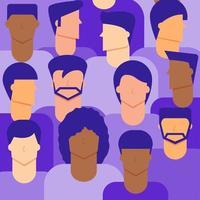 sfondo di cittadini di sesso maschile