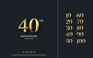 le cifre della celebrazione vanno dal 10 al 100