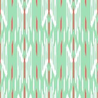 ikat verde, bianco e rosso senza motivo