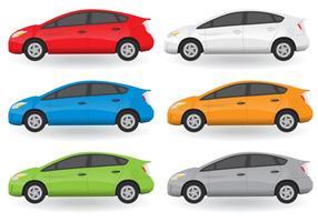 set vettoriale di auto
