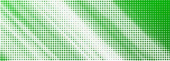 astratto banner verde punteggiato di sfondo