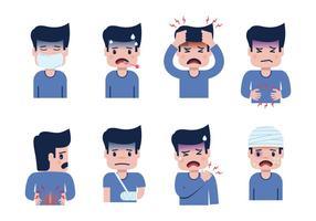 Vettore di dolore e afflizione