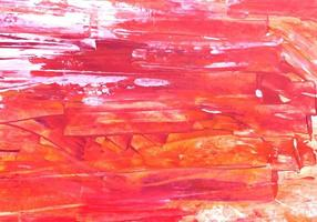 fondo arancio e rosso di struttura dipinto estratto.