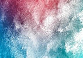 moderno blu, rosa acquerello pennello texture di sfondo vettore