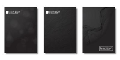 copertine moderne con texture pennello bokeh e grunge