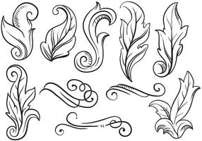 Vettori di ornamenti d'epoca