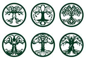 Vettore dell'albero celtico
