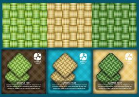 texture ketupat
