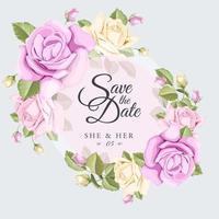 salva l'emblema del matrimonio con data