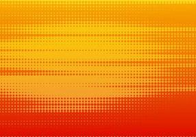 design pattern punteggiato rosso e arancione