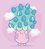 progettazione della creatura del personaggio del fungo del videogioco