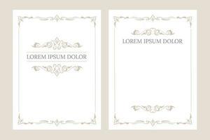 cartoline d'auguri dell'invito in bianco dell'annata con il posto per testo