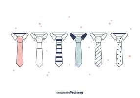 Cravatta Set Vector