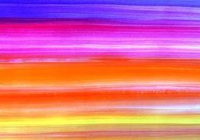 astratto brillante dipinto strisce di sfondo multicolore