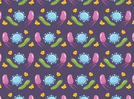 pattern di sfondo del virus