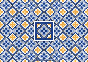 Azulejo Pattern Geometric Vector gratuito