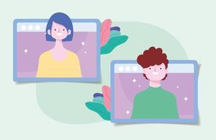 mettere in quarantena l'interazione online