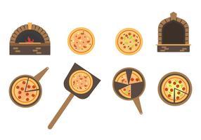Pizza vettoriale gratis