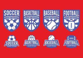 Badge sportivo americano