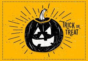Illustrazione di vettore della zucca di Halloween